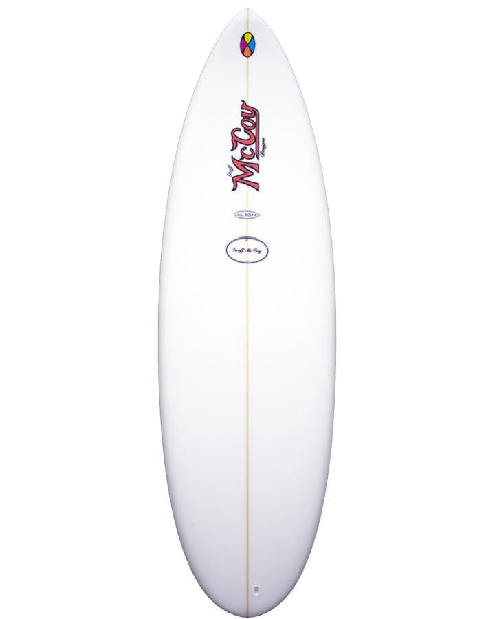 McCoy Nugget FCSII Clear Epoxy Surfboard
