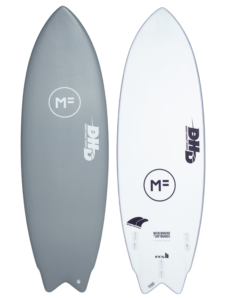 MF Softboards X DHD Twin Grey FCSII