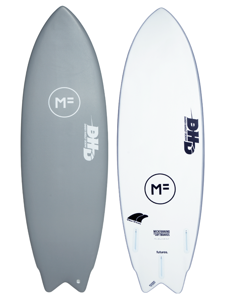 MF Softboards X DHD Twin Grey Futures