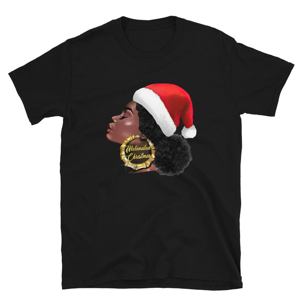 Melanated Christmas Unisex T-Shirt