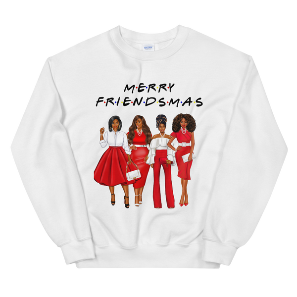 Friendsmas Red Sweatshirt