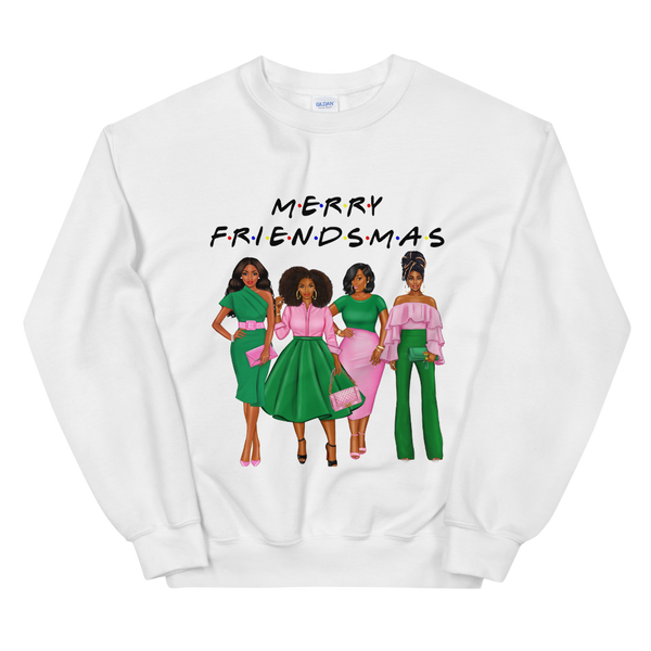 Friendsmas Pink Sweatshirt