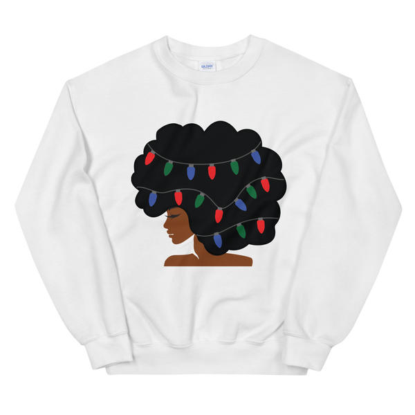 Christmas Fro Sweatshirt