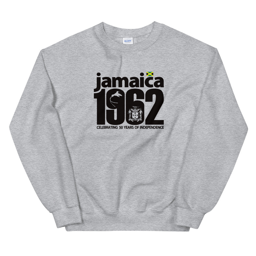 Jamaica 1962 - 50th Year Independence Celebration Unisex Sweatshirt