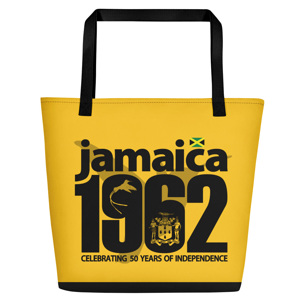 Jamaica 1962 - Yellow Beach Bag
