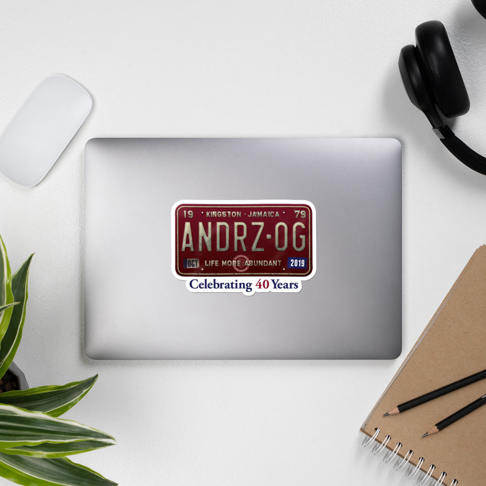 Andrz OG 2019 Reunion Stickers