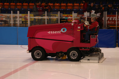 A Brief History of the Zamboni - Clearing the Ice