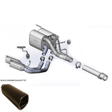 Cat-Back Sport Exhaust System - F-150 Tremor