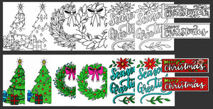 Holiday Coloring Pack