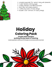 Load image into Gallery viewer, Holiday Coloring Pack