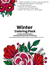 Load image into Gallery viewer, Winter Coloring Pack