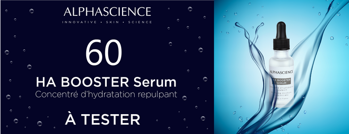 HA BOOSTER SERUM D'ALPHASCIENCE À TESTER