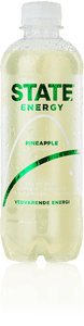 STATE Energy drink - Pineapple  (1,5 kr. pant inkl.) 400 ml.