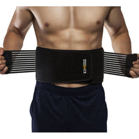 Lower Back Brace and Lumbar Support Belt for Men Women Herniated Disc, Back Pain, Sciatica, Scoliosis with 8 Stabilizing Straps Dual Adjustable and Breathable Mesh Panels