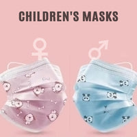 children's Face Masks, 3-Ply FAST SHIPPING