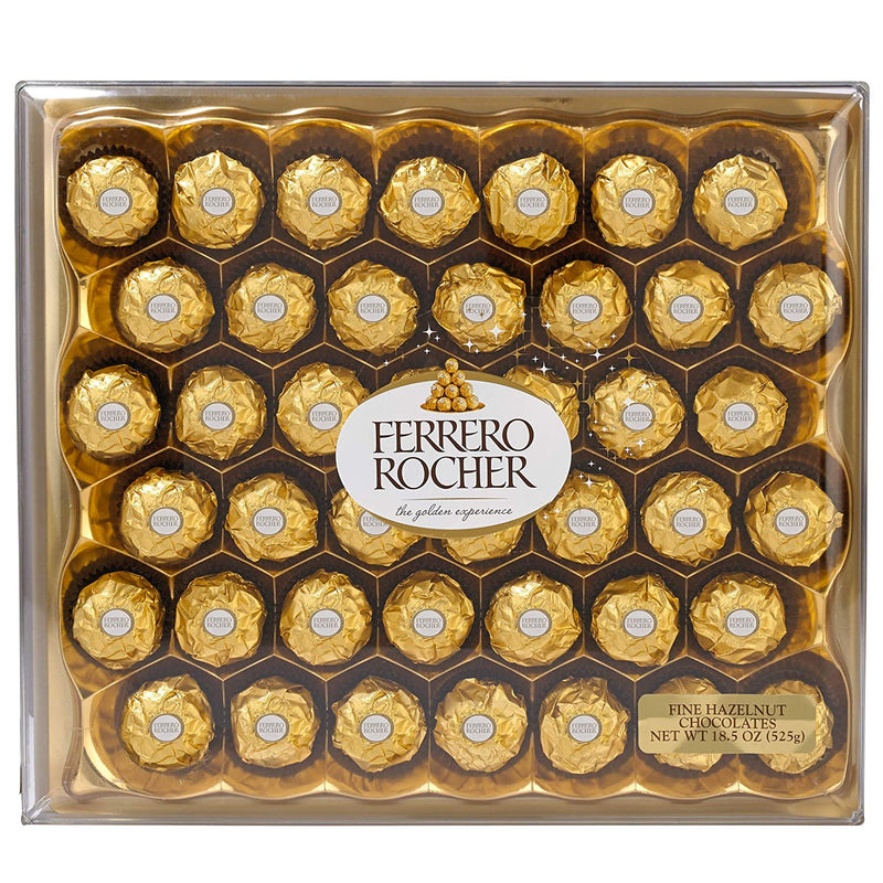 Ferrero Rocher Hazelnut Chocolate 18.5z