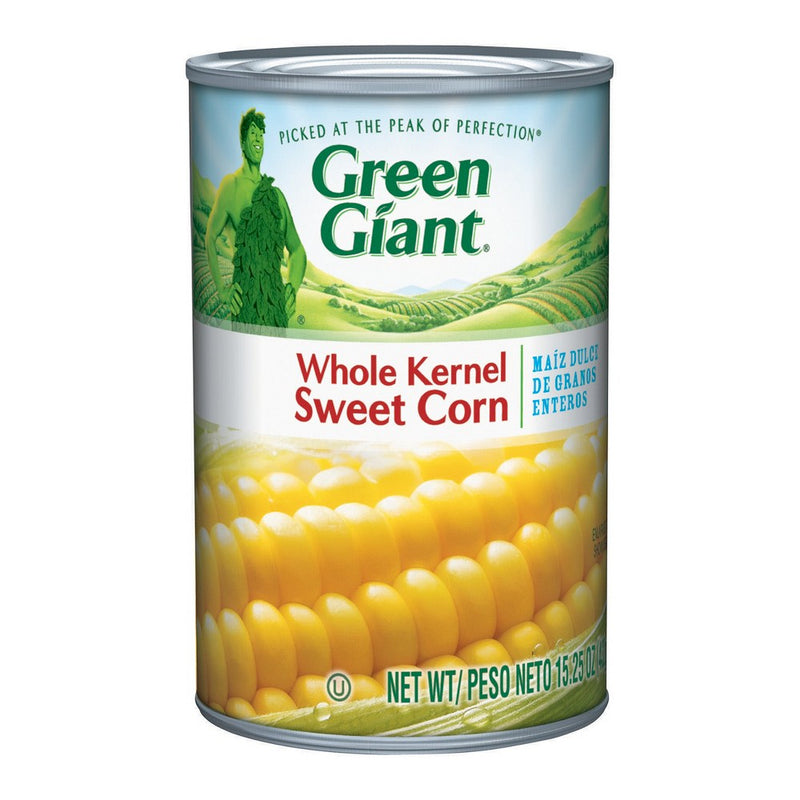 Green Giant Whole Kernel Sweet Corn, 15.25-Ounce