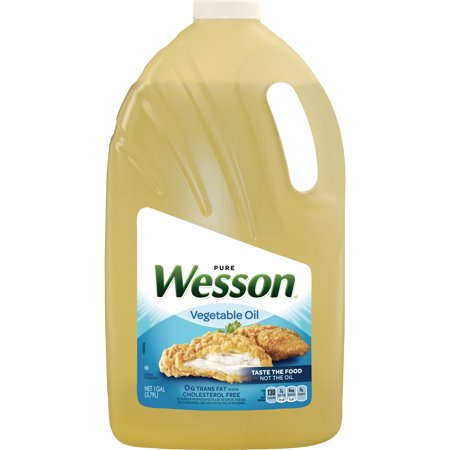 Wesson Vegetable Oil 100% Natural, 1 Gallon