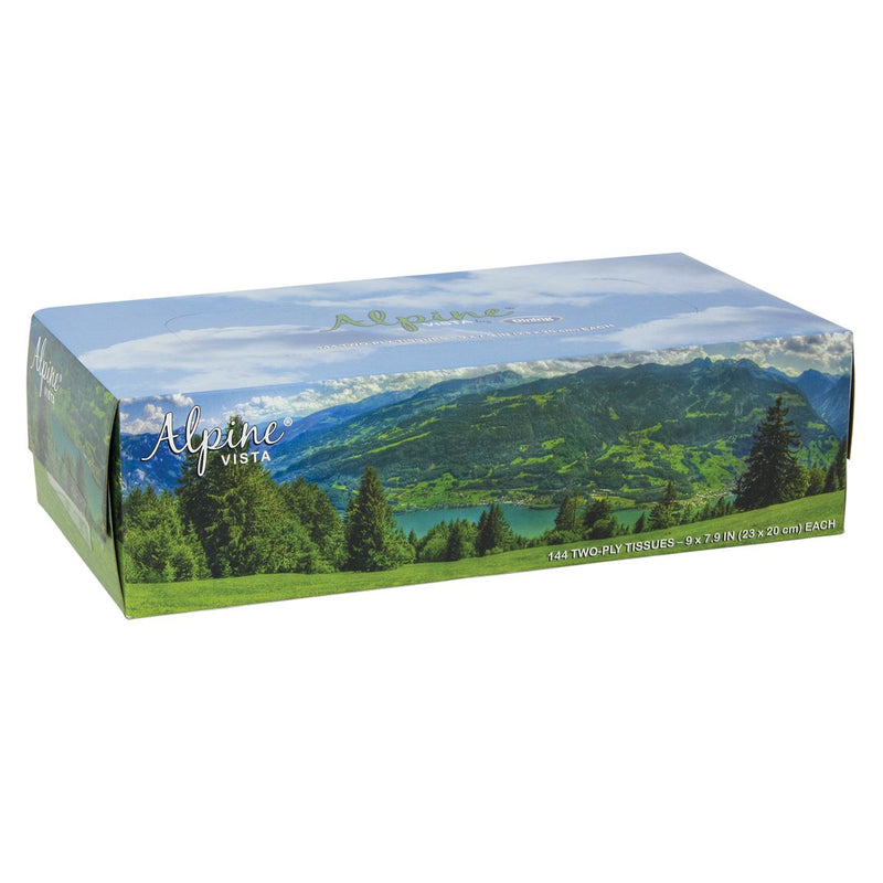 Alpine Facial Tissue - 144 ct.
