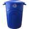32 Gallon Blue Recycle Can with Lid TI0028