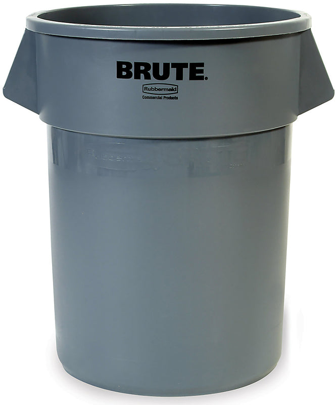 Rubbermaid® Brute® Trash Can - 10 Gallon, Gray