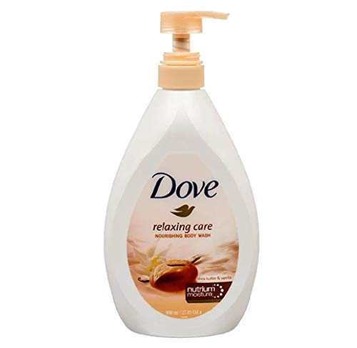 Dove Body Wash With Pump 27.05oz (800ML) (Almond & Hibiscus)