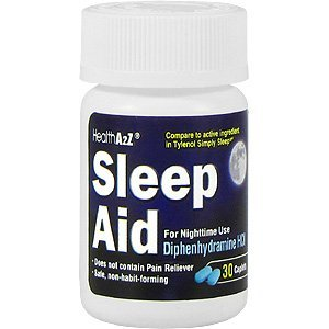 Health A2Z Sleep Aid Diphenhydramine, 25mg 36ct