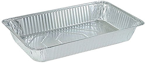 Nicole Home Collection 00719 Aluminum Deep Pan, Full Size (Pack of 50)