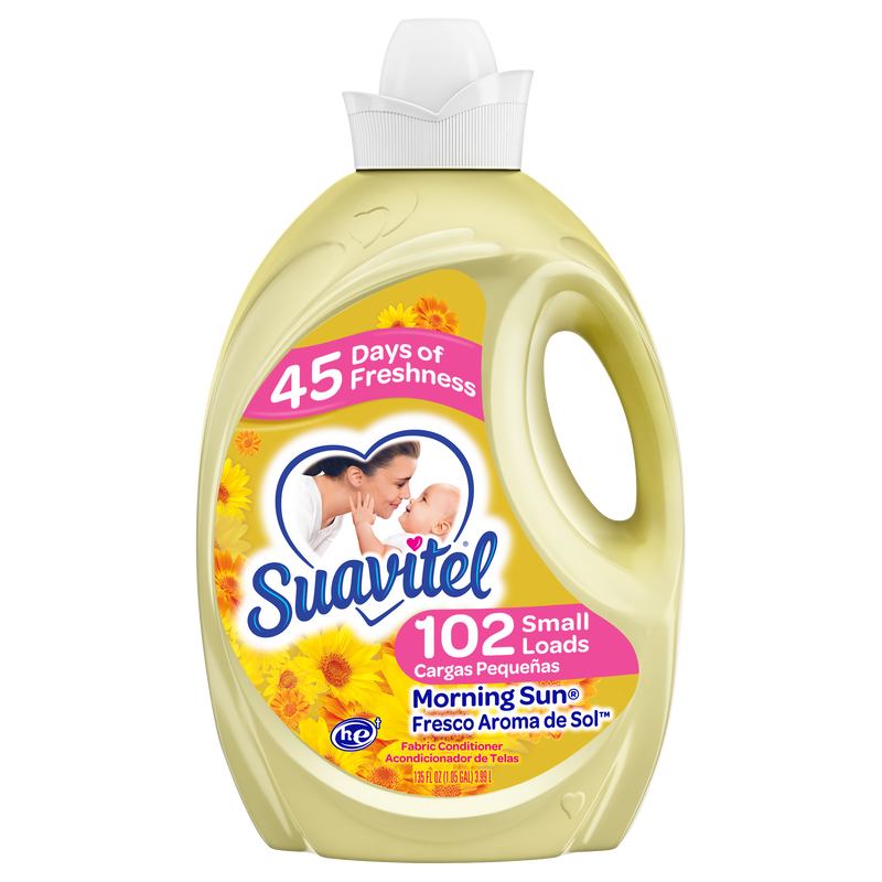 Suavitel Fabric Softener Morning Sun 135 Oz