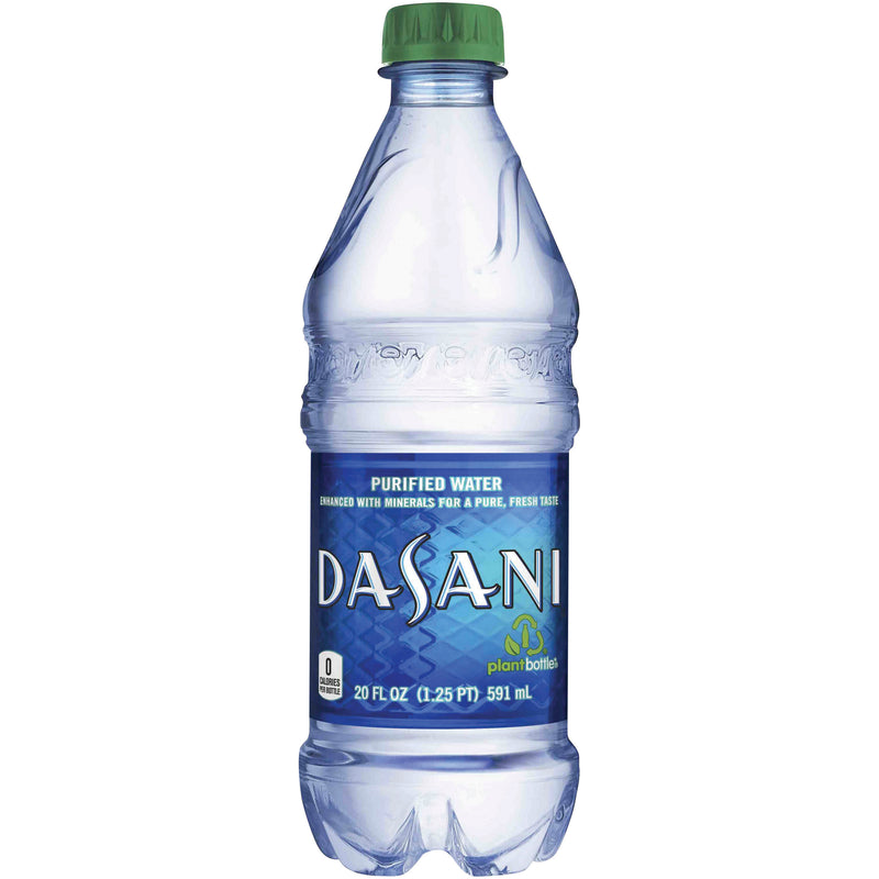 Dasani Purified Water 20 oz.