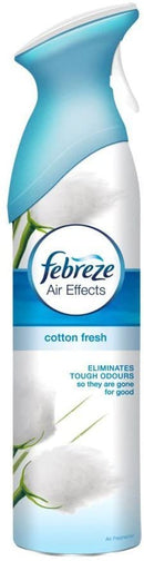 Febreze Cotton Fresh Mist and Refresh Spray 300 ml (Pack of 3)