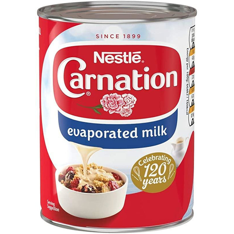 Carnation Evaporated Milk Can 360 Gr, Sweet, 360 g