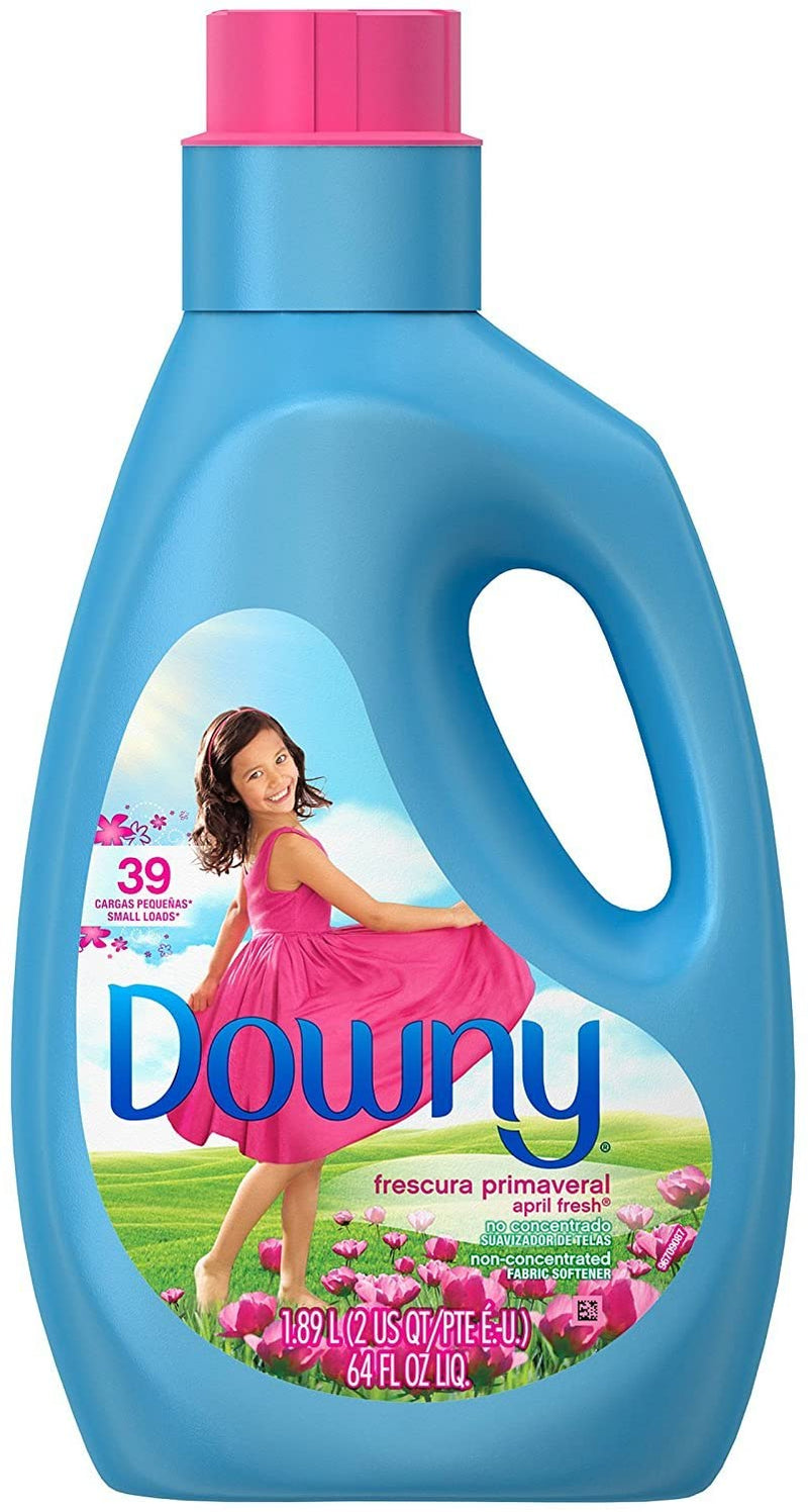 Downy April Fresh Fabric Softener, 39 Loads, 64 fl oz