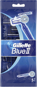 Blue II Disposable Razor, Pack Of 5 One Size