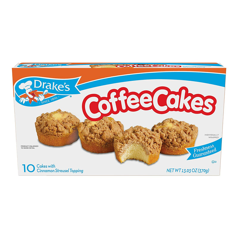 Drake's Coffee Cakes, 10 Count