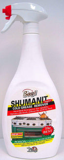 SHUMANIT Cold Grease Remover 26.4 Fl Oz.