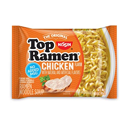 Nissin Top Ramen Chicken - 3 oz