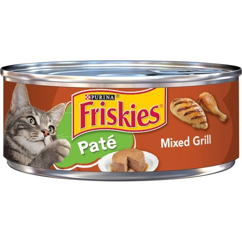 Friskies Classic Pate Cat Food - Mixed grill
