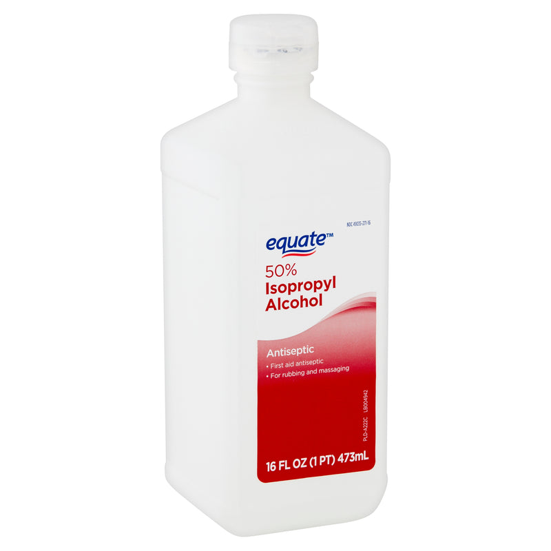 Equate 50% Isopropyl Alcohol Antiseptic, 16 fl oz