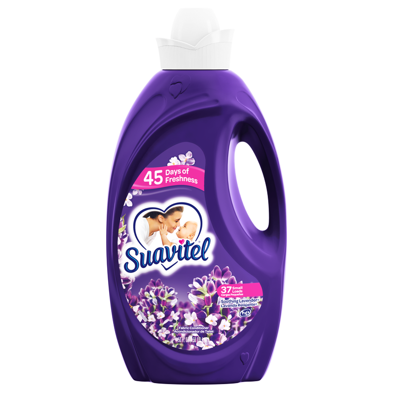 Suavitel Fabric Softener, Soothing Lavender - 50 fluid ounces