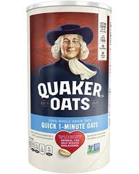 Quaker, Quick 1 Minute Whole Grain Oats, 42 Oz