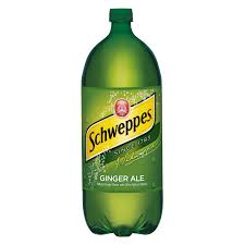 Schweppes Caffeine-Free Ginger Ale, 2 L