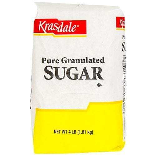 Krasdale Sugar 4lb Bag