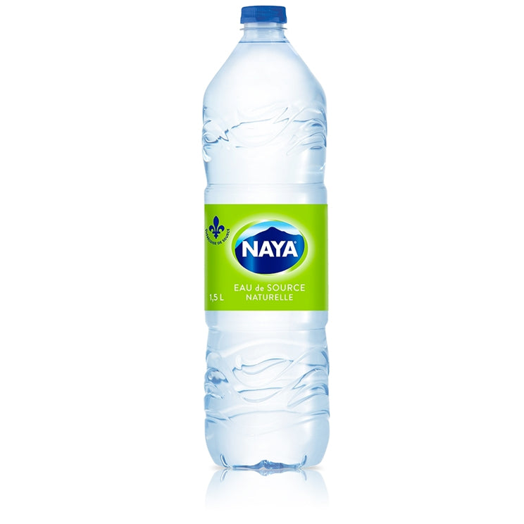 NAYA Natural Spring Water Pack of 12 x 1.5L Bottles