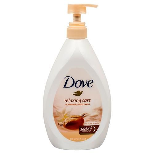 Dove Relaxing Care Nourishing Body Wash Pump