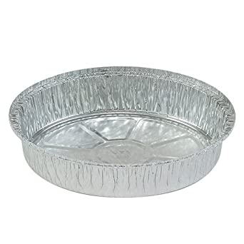 Nicole Home Collection 00569 Aluminum Round Pan, 9""