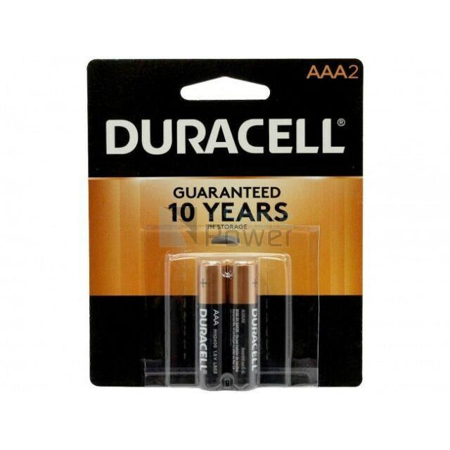 Duracell Coppertop AAA Batteries, 2ct, 2pk