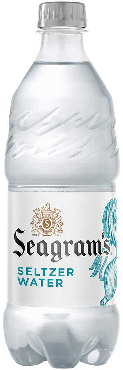 Seagram's Sparkling Seltzer Water Original 20 fl oz Plastic Bottle