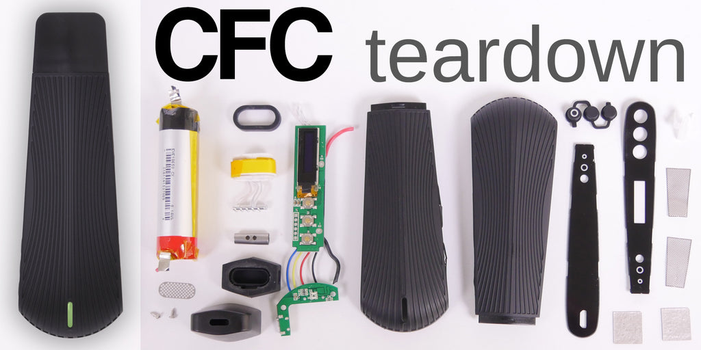 CFC boundless teardown puffitup tear down circuit boards parts