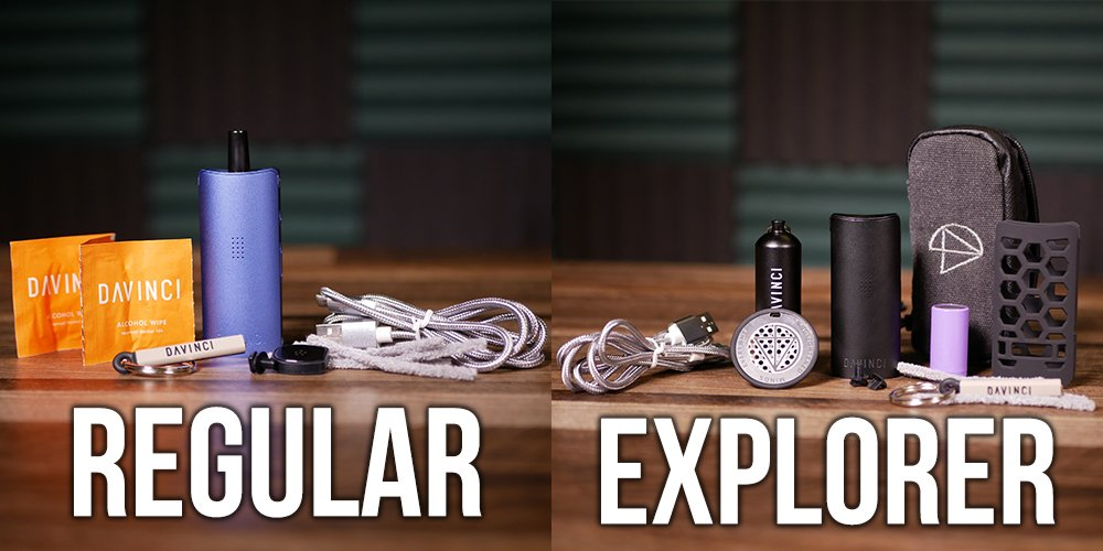 Miqro standard and explorer's edition comparison